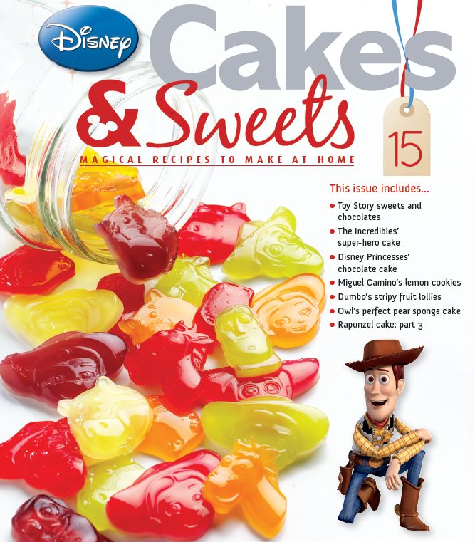 Disney Cake Decorating Book : 28 best images about Disney Cakes and Sweets on Pinterest ...