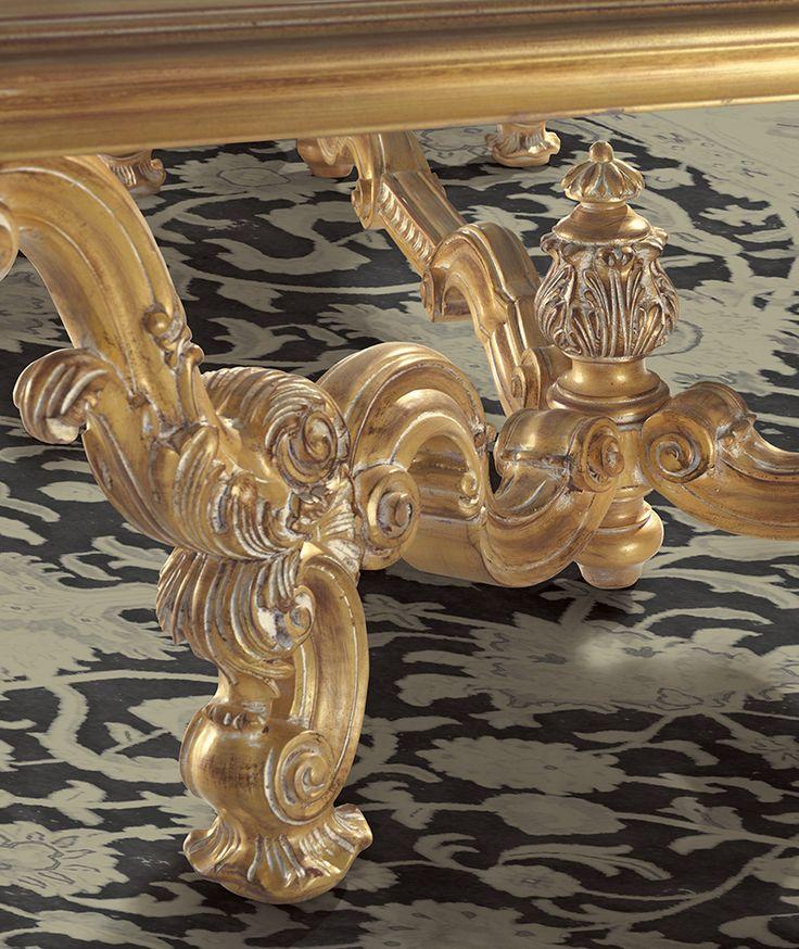 VAN GOGH Detail of handmade wood carving