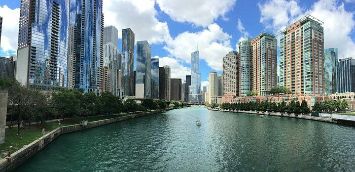 From trading post to global city - #chicago with @aircanada from #brisbane for $1,112. For more visit www.flightfinderau.com #share&spread
