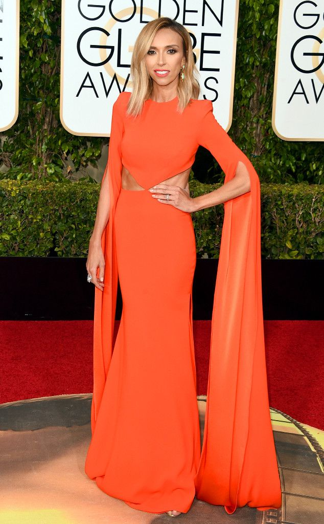 All the Details on Giuliana Rancic's 2016 Golden Globes Looks: The Dresses, the Diamonds and More!  Giuliana Rancic, Golden Globe Awards