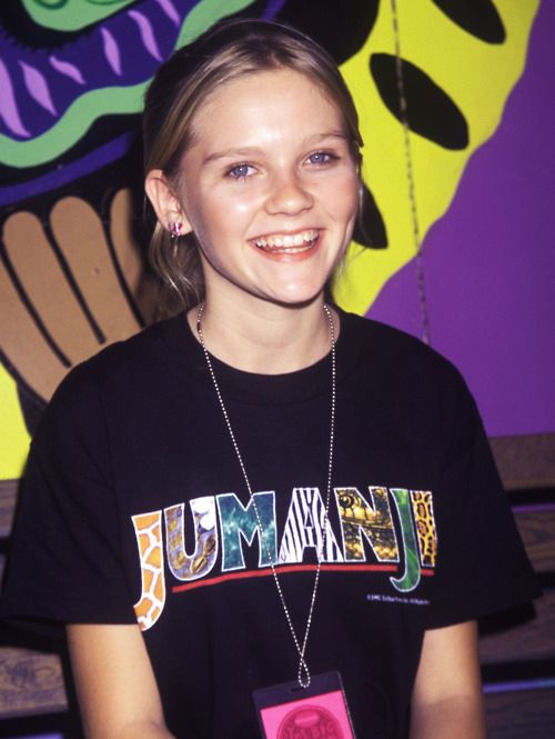 Kirsten Dunst reppin' Jumanji: | The 50 Most '90s Things That Have Ever Happened