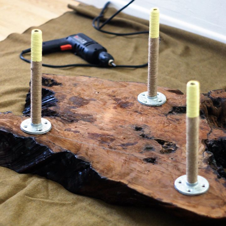 Dipped Furniture Legs: 38 Best Images About Slab Wood Projects On Pinterest