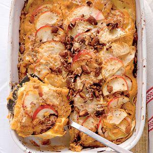 Recept - Lasagne met pompoen en appel - Allerhande - hoofdgerecht