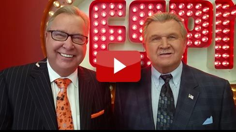 Ron Jaworski and Mike Ditka invite you to an exclusive cigar party.
