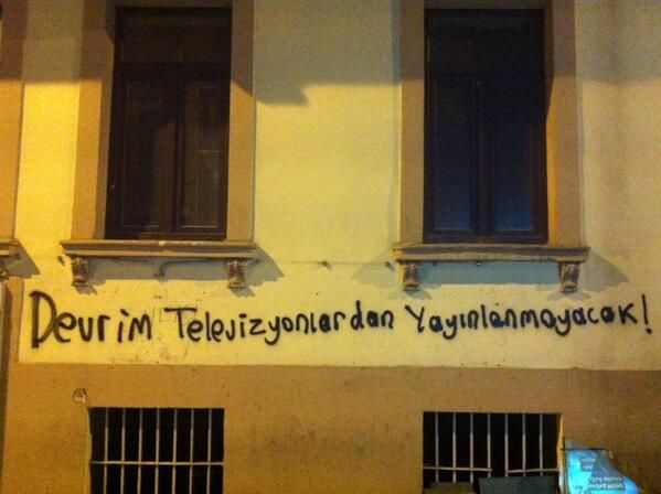 The revolution will not be televised!