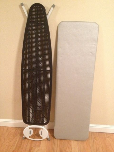 How to turn regular sized ironing board into a larger one which tends to be better suited for quilting. Project!