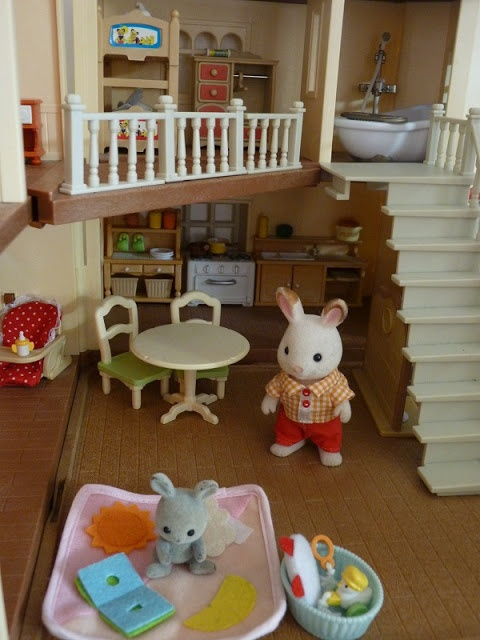 136 best images about calico critters on pinterest toys. Black Bedroom Furniture Sets. Home Design Ideas