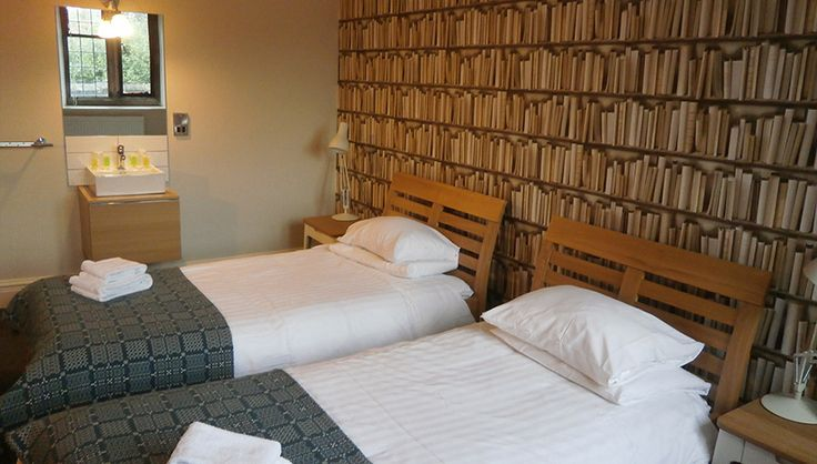 Gladstone's Library offers interesting boutique hotel rooms in Flintshire, North Wales. Come and stay in our great value, one-of-a-kind library!