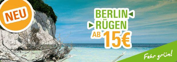 Fernbus von Berlin nach Rügen