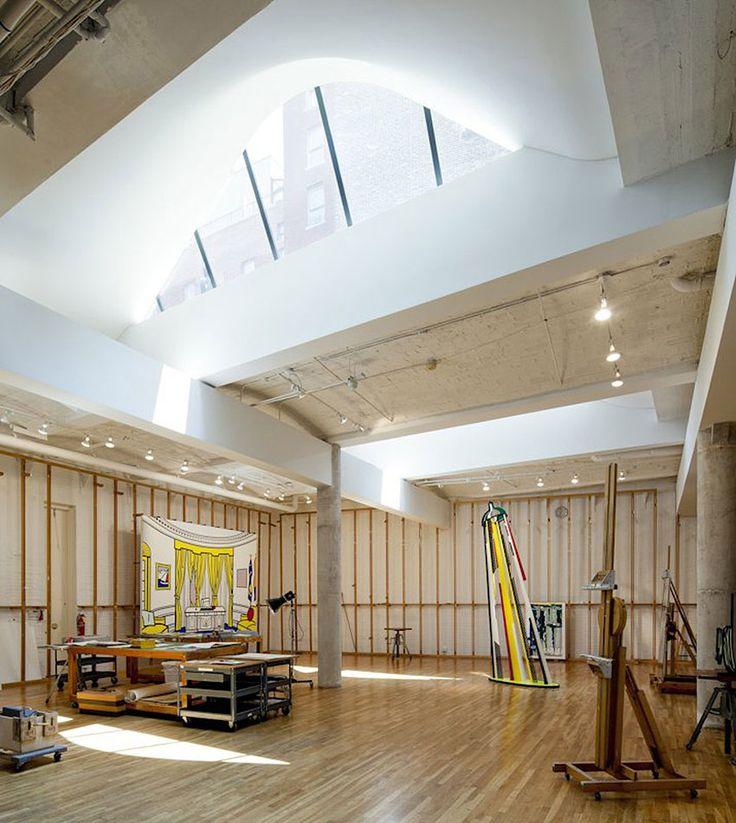Roy Lichtenstein Residence & Studio by Caliper Studio | Yellowtrace