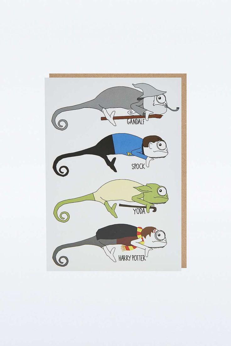 Chameleon Movies Card