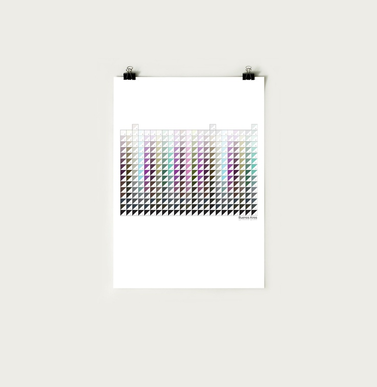 CODE Posters by Sebastián Abad, via Behance