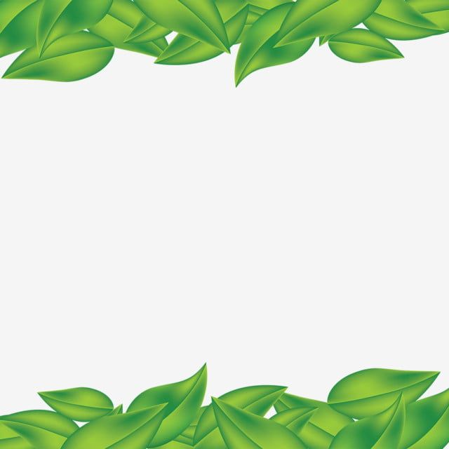 Green Leaf Frame Green Leaf Frame Png And Vector With Transparent Background For Free Download Flower Backgrounds Green Leaves Watercolor Flowers