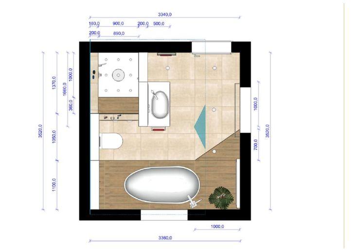 48 besten grundrisse badezimmer bilder auf pinterest for Grundrisse badgestaltung