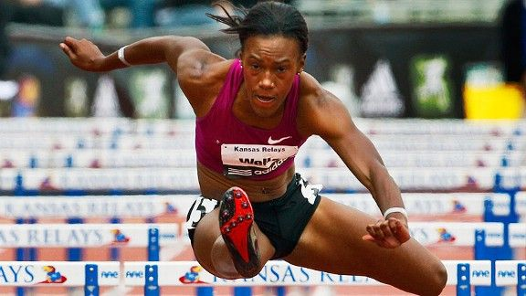 no hurdle too high for track and field star kellie wells