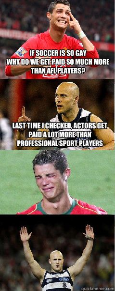 soccer players are lame memes - Google Search