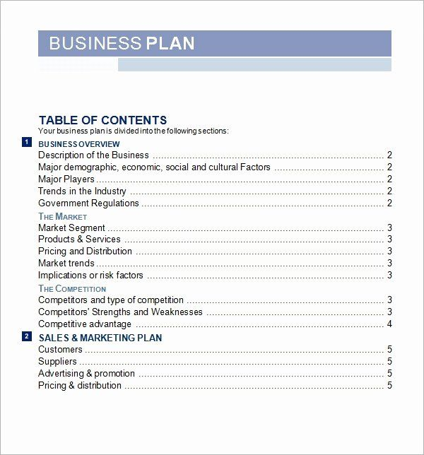 Startup Business Plan Template Pdf Inspirational Bussines Plan Template 17 Downl Business Plan Template Word Business Plan Template Business Plan Template Free