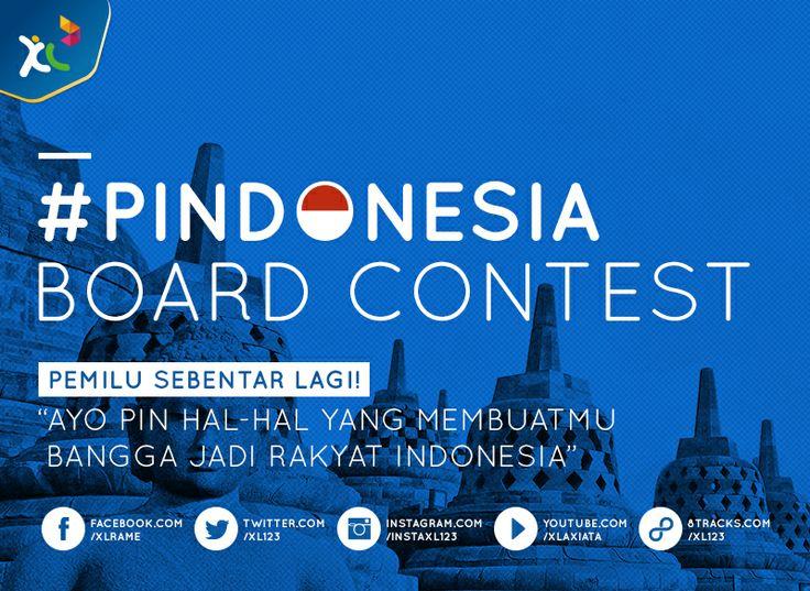 #PINdonesia Board Contest!