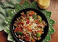 A volume of veggies adds a delicious twist to this skillet dish.