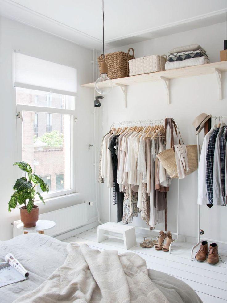 12 no closet clothes storage ideas storage ideas in or - Clothing storage ideas no closet ...