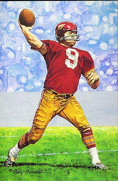 Sonny Jurgensen - Washington Redskins