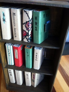 豆本の本棚