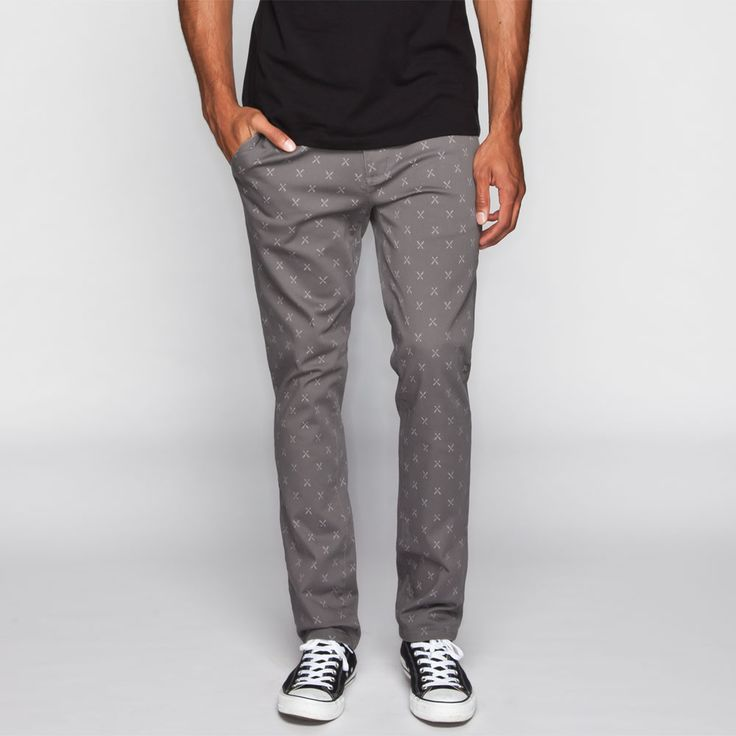 RSQ London Mens Skinny Chino Pants 237041568   Pants