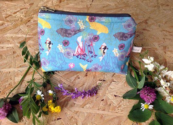 Swimming Koi of Kromeriz small cosmetic bag