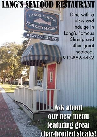 Lang's Marina Restaurant, my favorite seafood restaurant of all time!!!