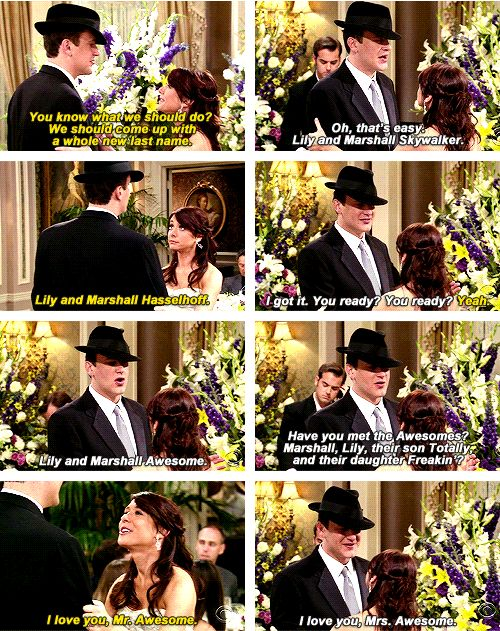 marshall and lily relationship goals messages