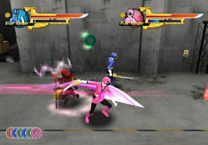 Play saban's power rangers samurai games