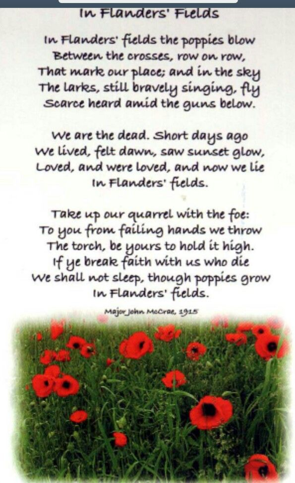 In Flanders Fields, and Other Poems by John McCrae