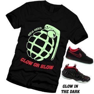 GLOW OR BLOW - designed to match Air YEEZY / FOAMPOSITES ... Yeezy Foams Shirt
