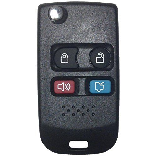 flip hair style 4 button replacement flip key and remote combo 2689