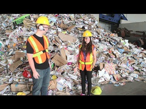 (882) Tour of London's Recycling Centre - YouTube