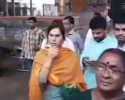 charan wife upasana visit srikalahasti temple
