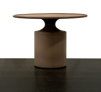 Christophe Delcourt OUM Side Table | ceramic | dia 51 x h 35 cm | choice of enamels available