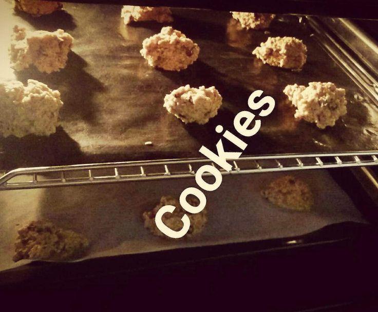 Rezept Müsli Cookies von rahideh1 - Rezept der Kategorie Backen süß