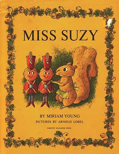 """""""Miss Suzy was a little gray squirrel who lived all by herself in the tip, tip, top of a tall oak tree."""""""