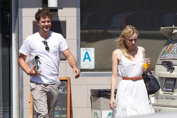 Joshua Jackson and Diane Kruger at Gelson's Market