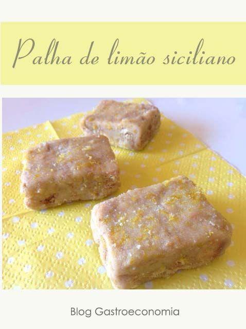 Palha italiana de limão siciliano.