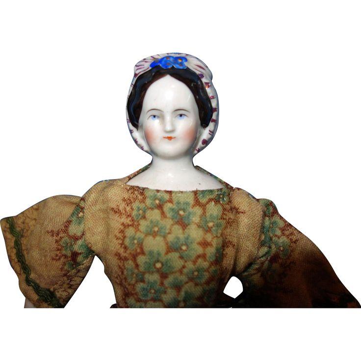 Petite Grape Lady china doll
