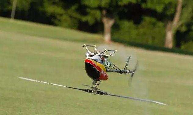 Motor de explosión de helicópteros teledirigidos