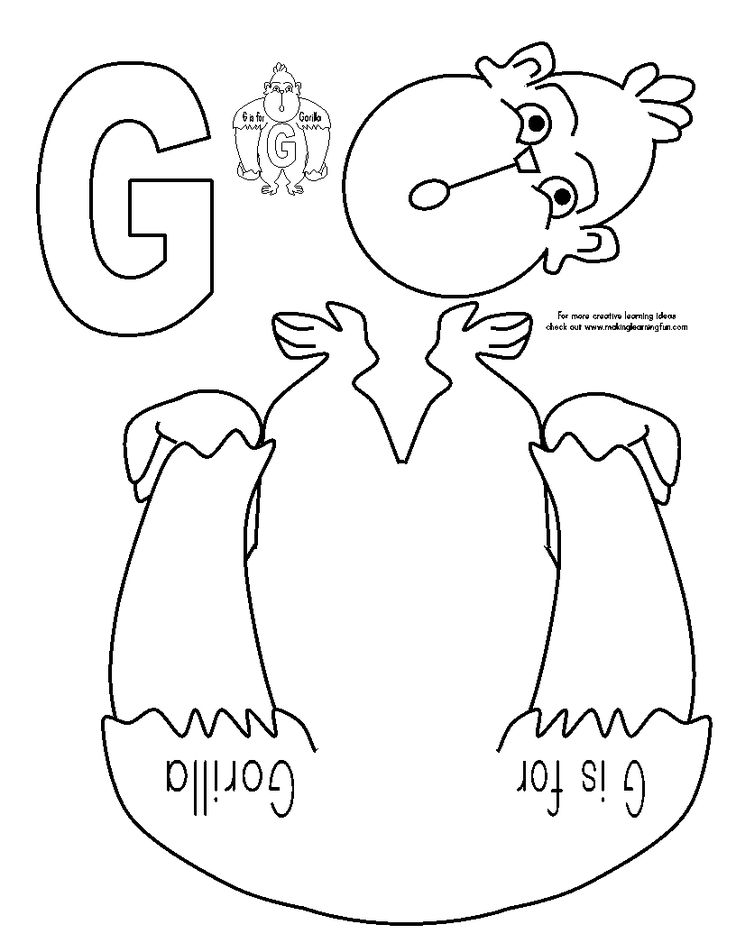 letter g activities and crafts    Free to download from here at Making Learning Fun.