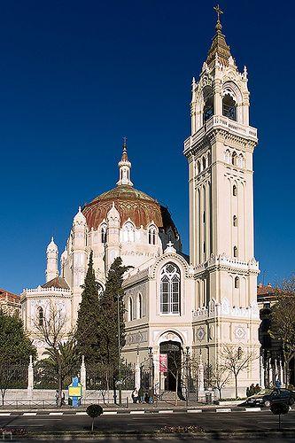 San Manuel y San Benito, en la calle de Alcalá, Madrid