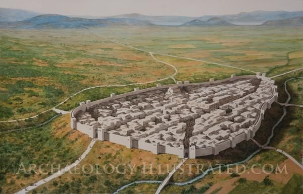 Thebes, Greece, in the Late Bronze Age
