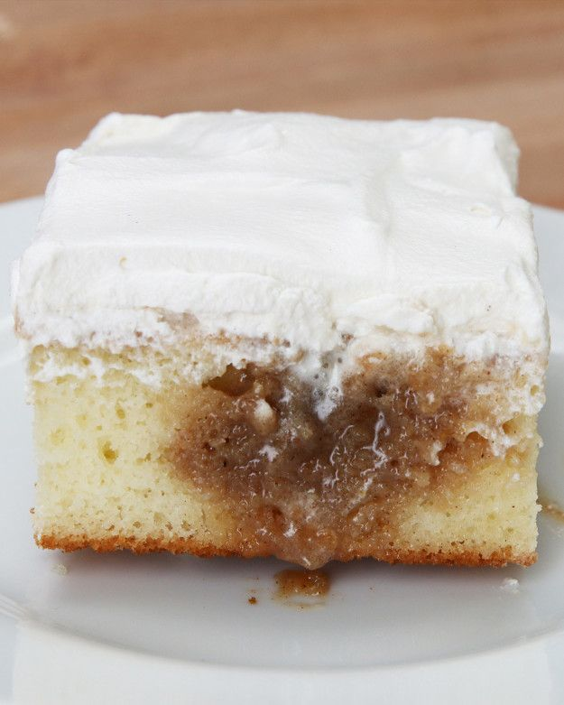 Cinnamon Roll Poke Cake                                                                                                                                                                                 More