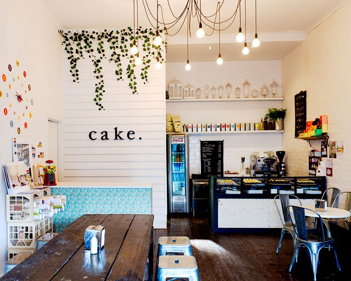 Cake bake shop in Ballarat - good coffee and delicious macarons. I go here to recharge and acquire inspiration.