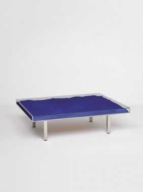 41 Yves Klein Quot Table Bleue Quot Designed 1961 Furniture