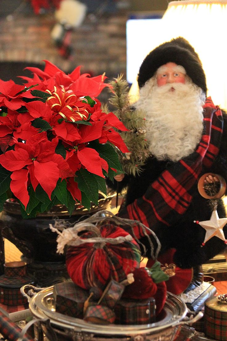 Romancing The Home: Christmas Vignettes By My Friend Jill